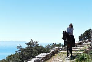 Horseback trail riding Sifnos